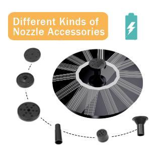 Multiple nozzles