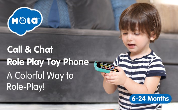 HOLA Baby Toys Phone for 1 Year Old Boy Girl