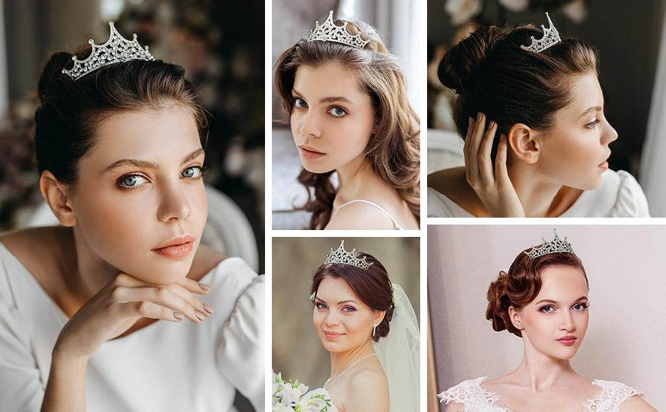 Wedding crowns and tiaras for Brides