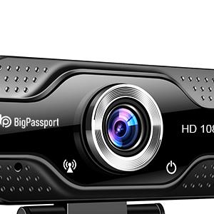 Bigpassport 1080P Computer Webcam