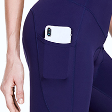 women cycling capris padded