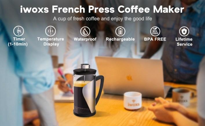 iwoxs french press coffee maker