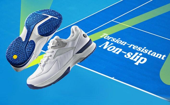 Non-slip tennis shoes