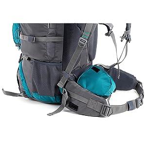 tripole walker rucksack side view