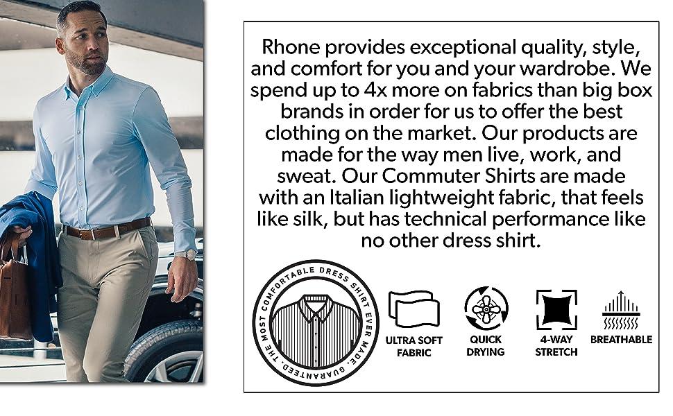Dress Shirt Lower Banner