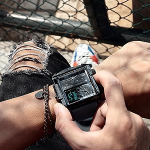 Waterproof Multifunction Watch