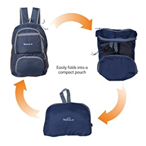 tripole foldable bag features
