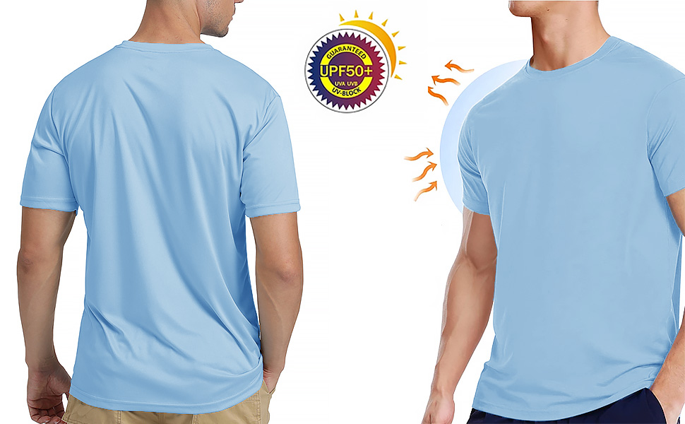 upf 50+ uv shirts tshirt kurzarm shorts sleeve herren