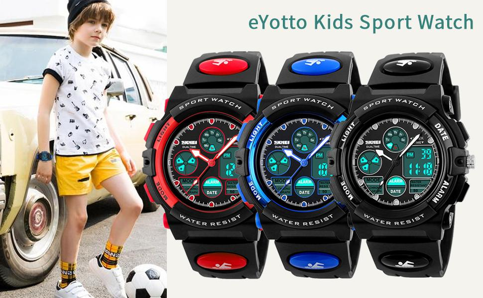 eYotto Kids Sport Watch