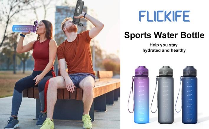 FLICKIFE  Sports Water Bottle