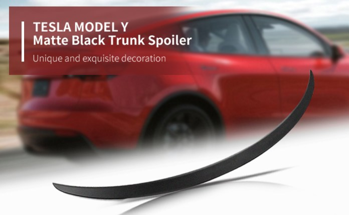 Performance OEM Style For Model Y 2020 2021 Original Tesla Model Y Accessories Matte Black