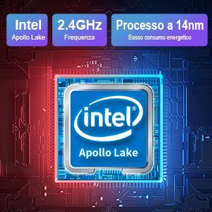 Portatile pc con Intel Apollo Lake