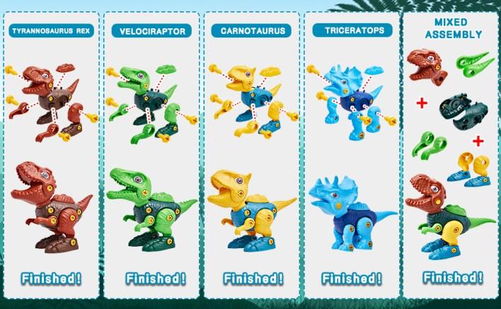 dinosaur toys for kids 3-5