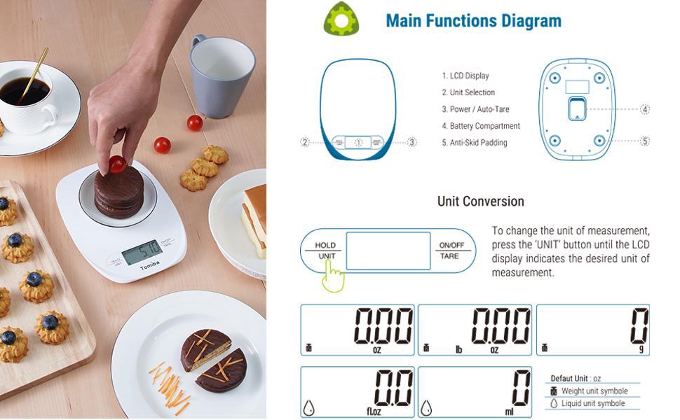 6011 kitchen scale