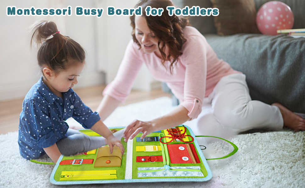 busy board for toddler