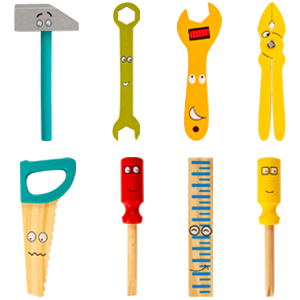 Tool Bench Set for Kids,Variety of Tools for Little Hands