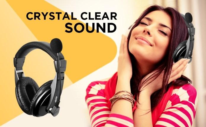 Crystal clean sound