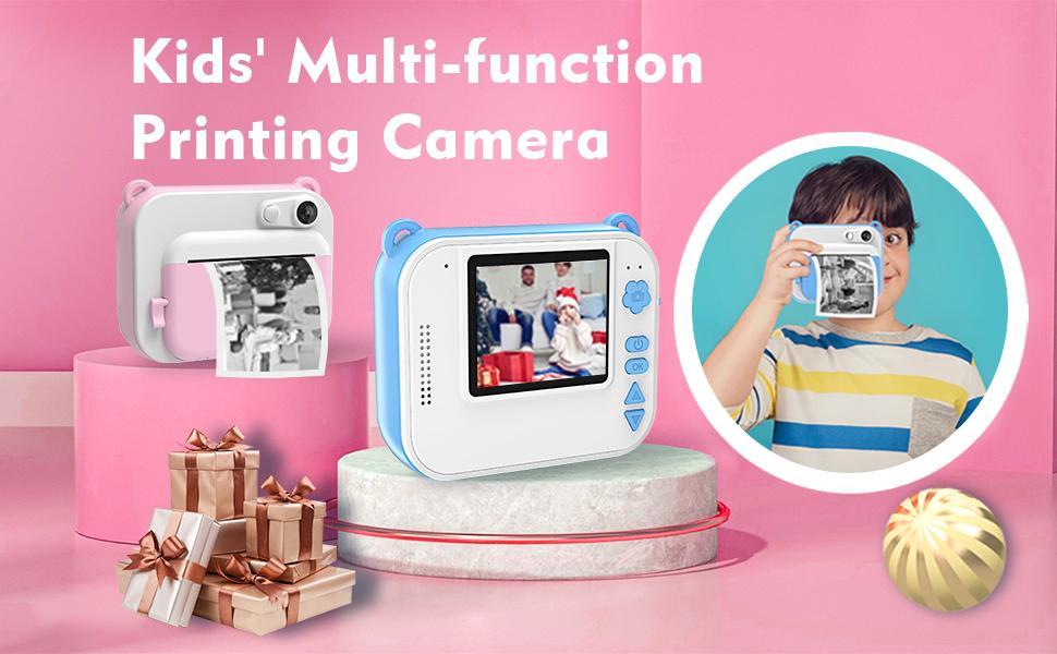kids print camera