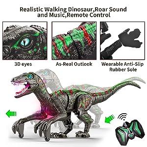 dino remote control toy