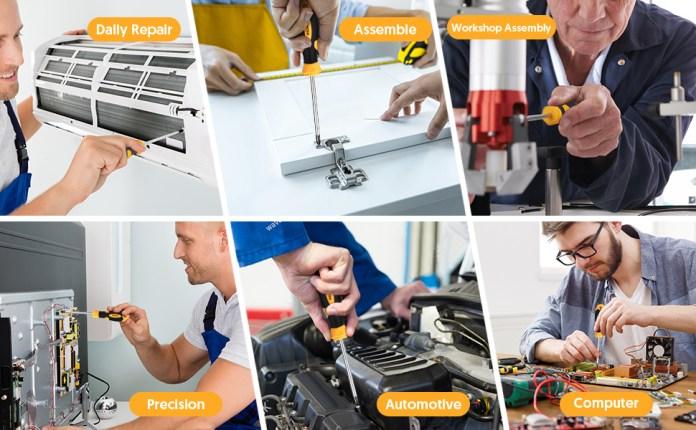 HALMAI Screwdriver sets applicability