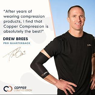 drew brees copper compression