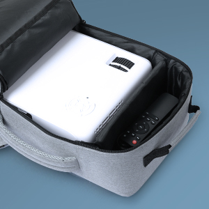 Portable projector with bag