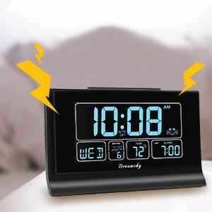 auto set alarm clock for bedroom