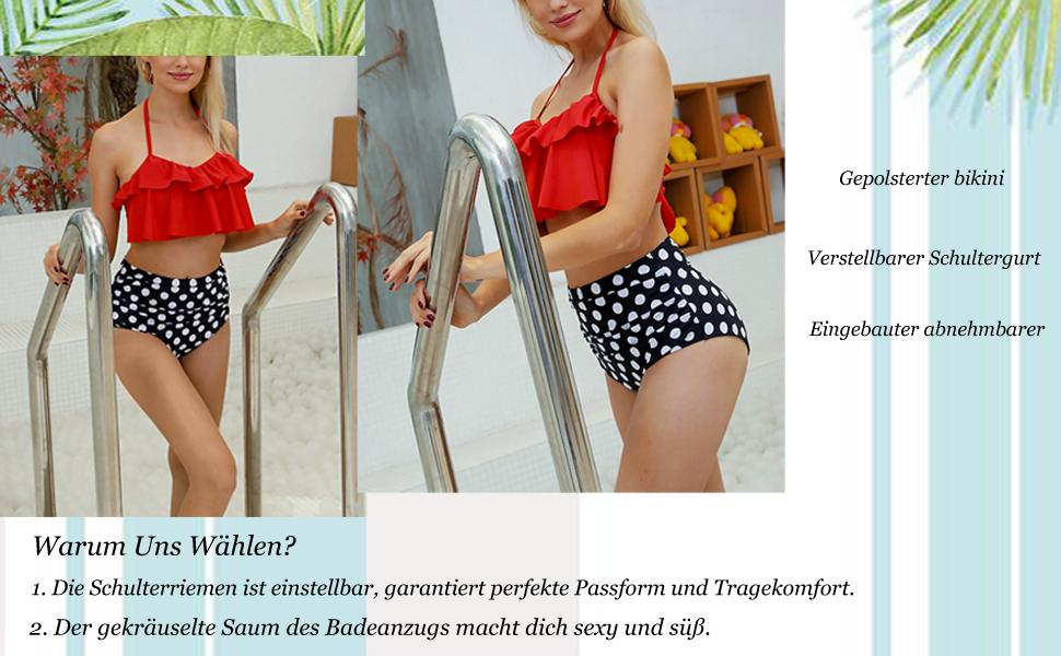 Gepolsterter bikini