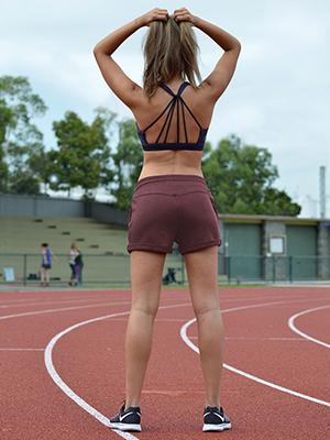 damen kurze jogginghose