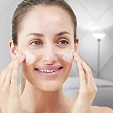 Apply a moisturizer at night to help your skin rehydrate, renew and repair