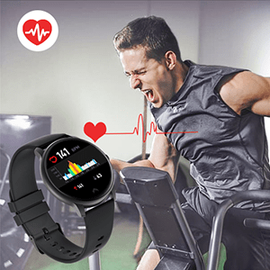 All day heart rate monitor