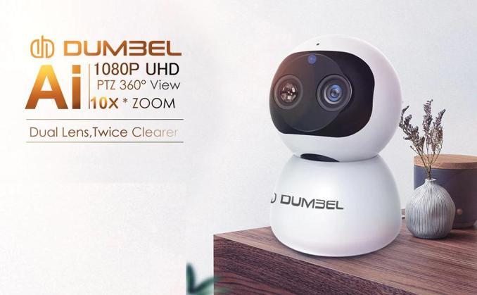 Dumbel Carecam Pro DashX 2MP WiFi Smart camera