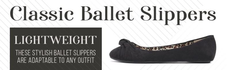 Womens ballet flats