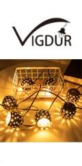 Moroccan string lights