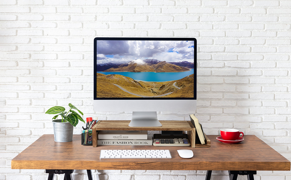 Computer Monitor Stand Riser