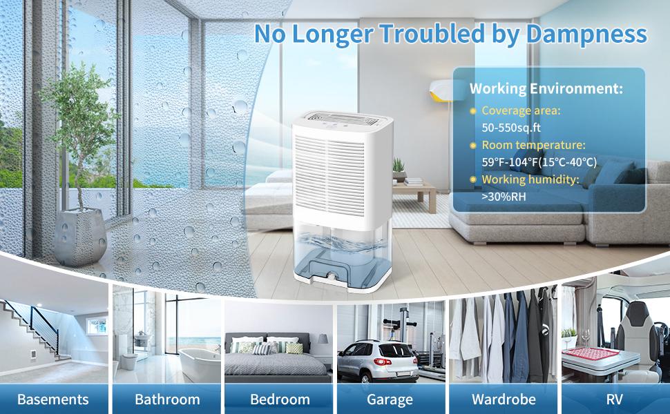dehumidifier for home bedroom basements rv