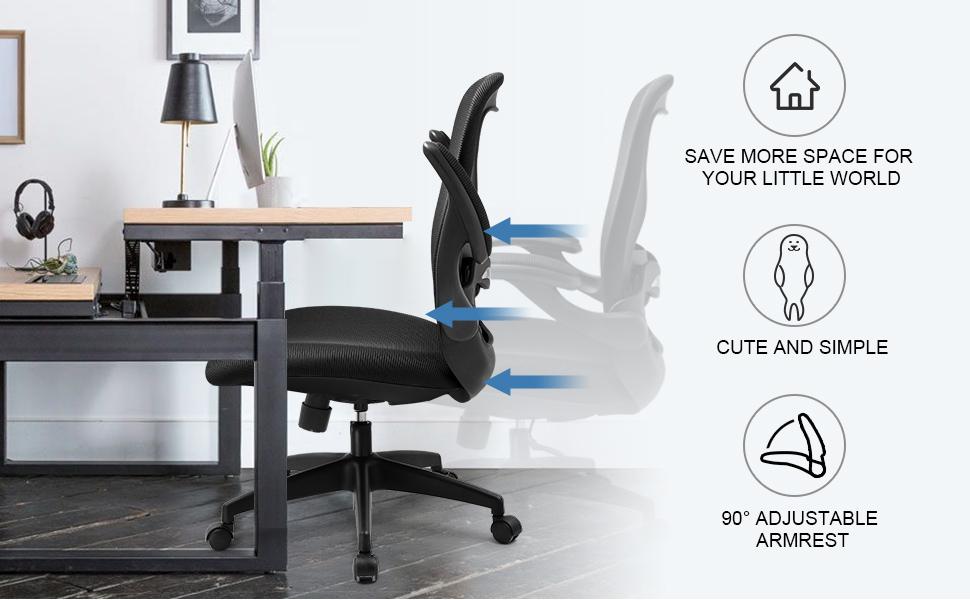Office chair-ch131-black