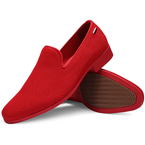 red loafer dress shoes men