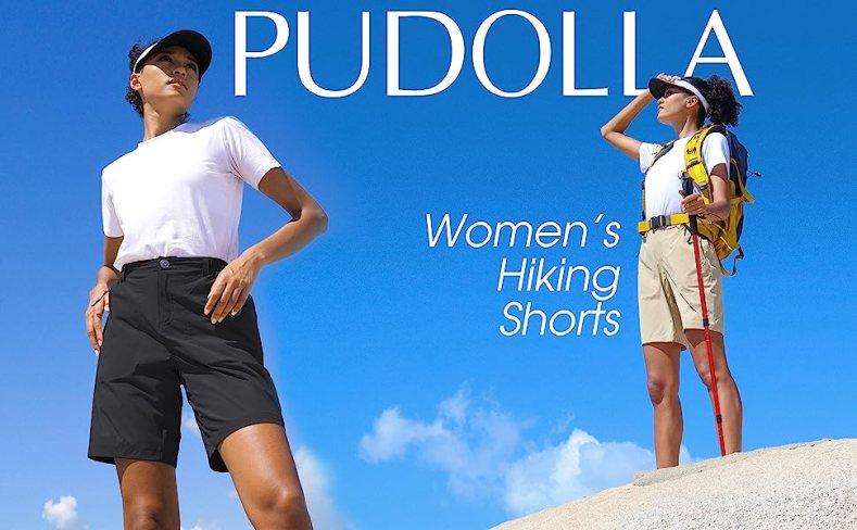 pudolla womens hiking shorts