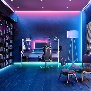 Led Light Strips for Computer Room