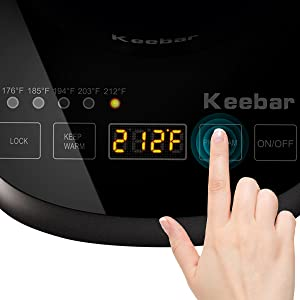 TOUCH SCREEN KETTLE