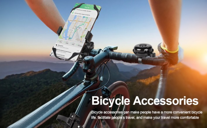 KSOEE Bicycle accessories set. Escort for you, so that you can better enjoy every cycling trip!