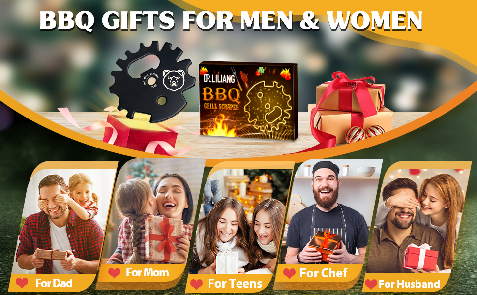 Mens Christmas Stocking Stuffers Gifts for Mom dad husband father guys Men Women Mom Chef