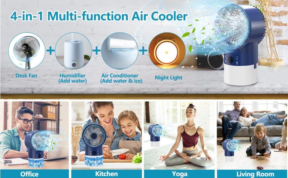 MULTIFUNCTION AIR COOLER