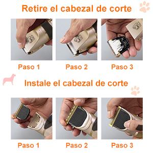 Maquinillas para higiene para perros