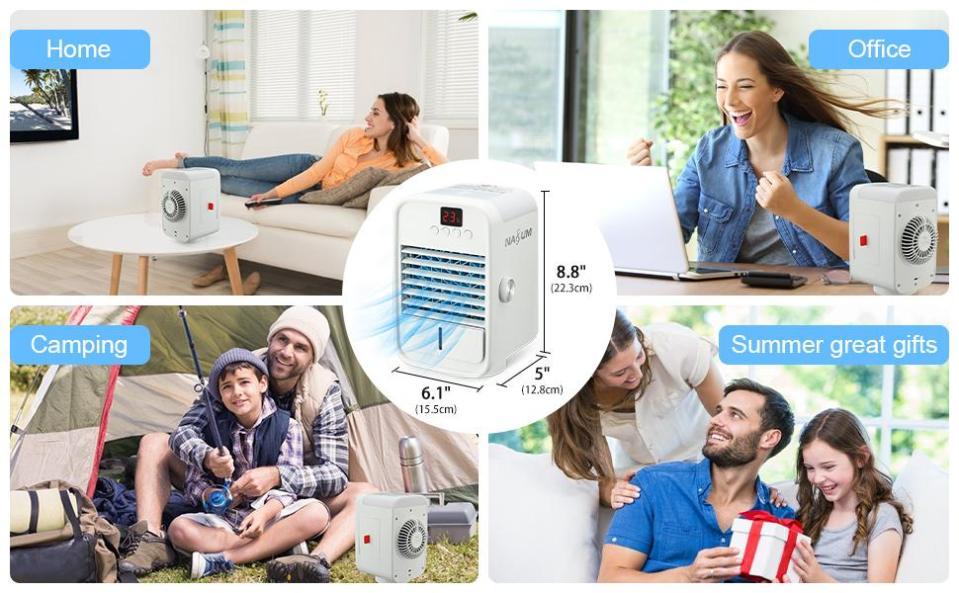 NASUM Portable Conditioner Fan