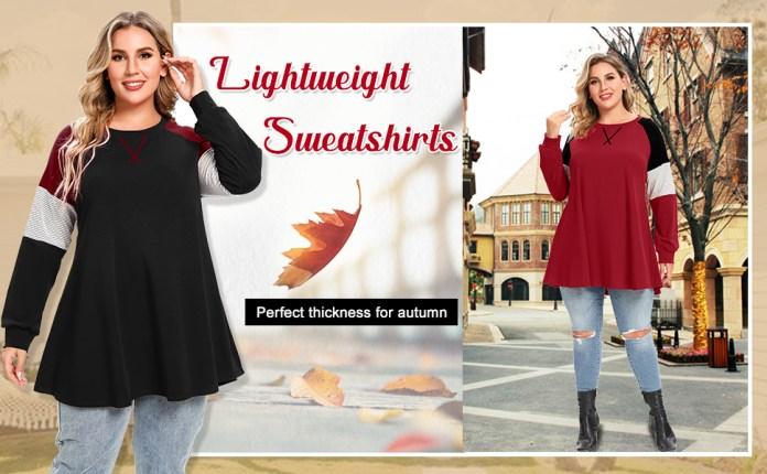 Lightweight Sweatshirts