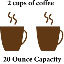 2oz French press coffee maker