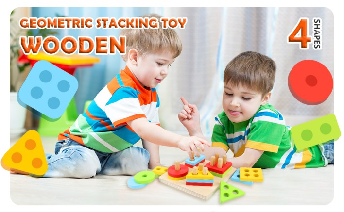 stacking toy 4 shapes