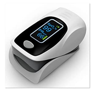 Oximeter batteries included Pulse Oximeter